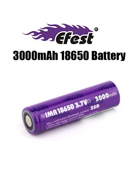 EFEST IMR 18650 3000MAH 35A