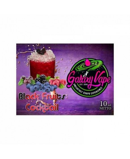 AROMA GALAXY VAPE BLACK FRUITS COCKTAIL 10ML