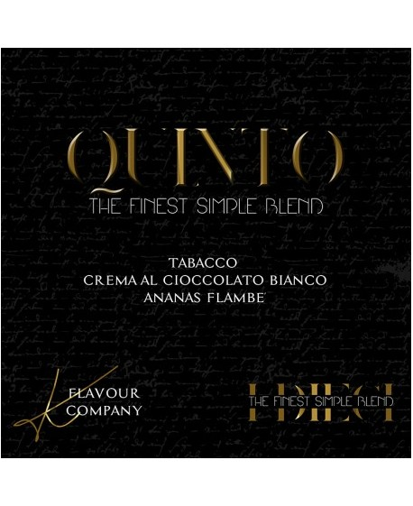 AROMA K FLAVOUR COMPANY QUINTO 10ML