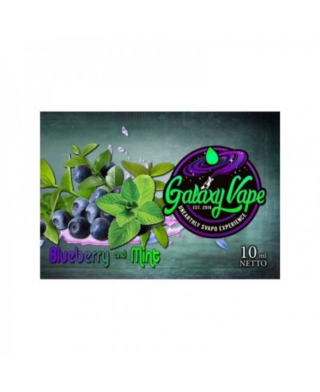 AROMA GALAXY VAPE BLUEBERRY MINT 10ML